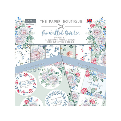 The Walled Garden Paper Kit