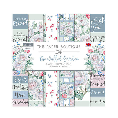 The Walled Garden Embellishments Pad