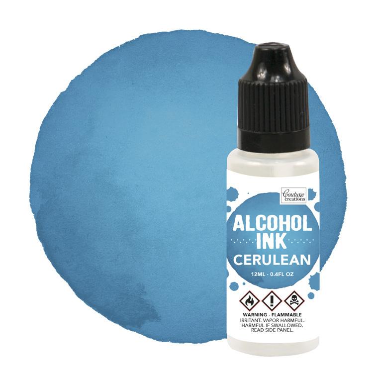 Alcohol Ink Mermaid / Cerulean (12mL   0.4fl oz)