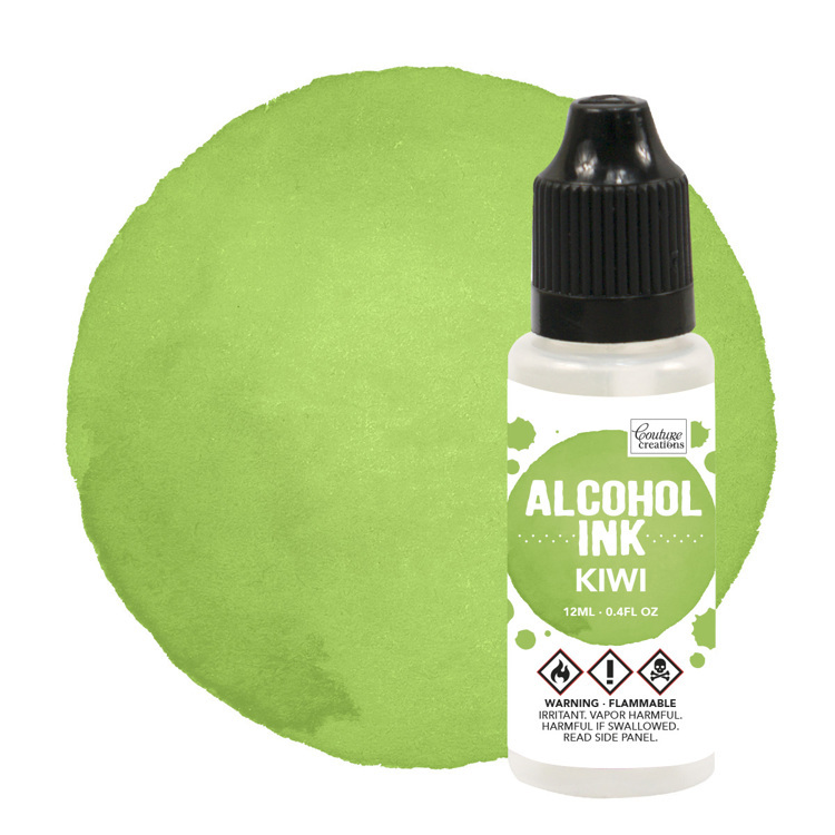 Alcohol Ink Limeade / Kiwi (12mL   0.4fl oz)