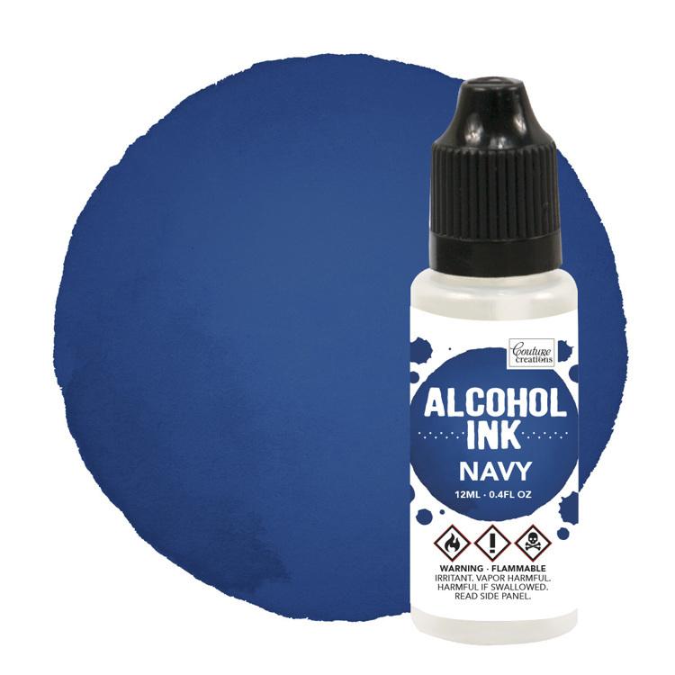 Alcohol Ink Eggplant / Navy (12mL   0.4fl oz)