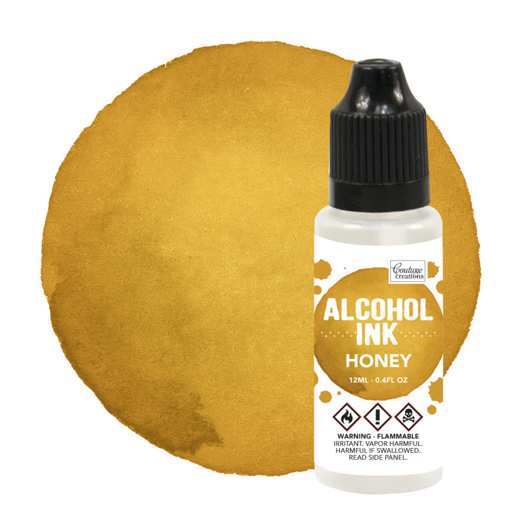 Alcohol Ink Butterscotch / Honey (12mL   0.4fl oz)