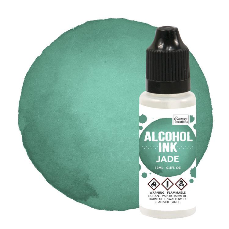 Alcohol Ink Bottle / Jade (12mL   0.4fl oz)