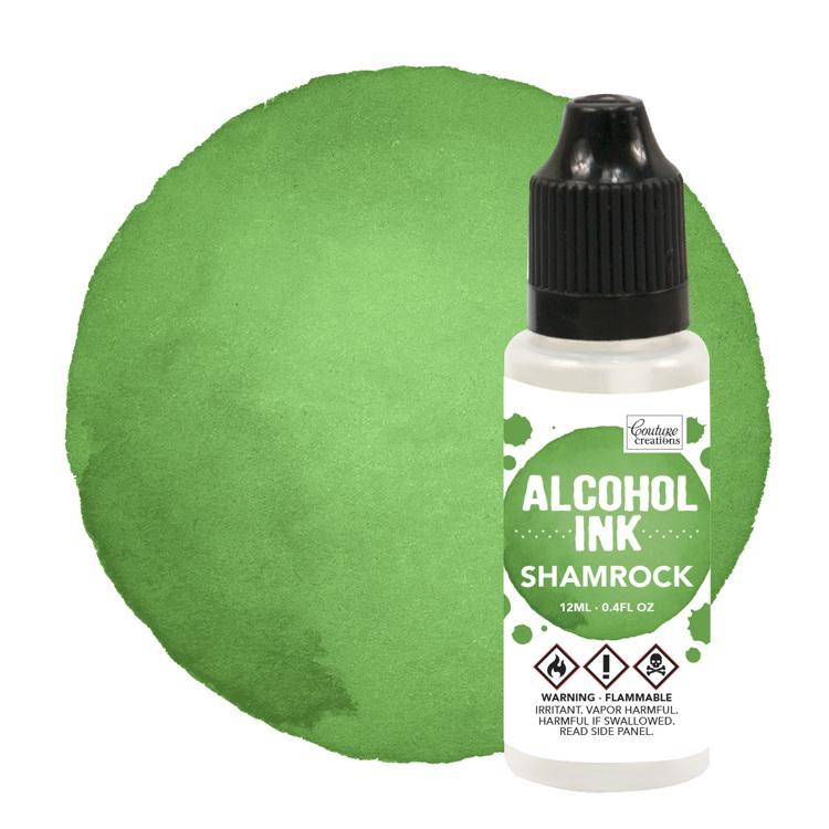 Alcohol Ink Botanical / Shamrock (12mL | 0.4fl oz)