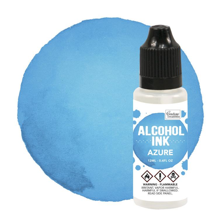 Alcohol Ink Aquamarine / Azure Blue (12mL   0.4fl oz)
