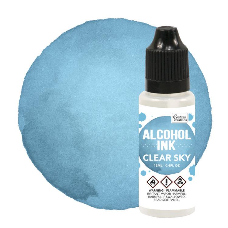 Alcohol Ink Aqua / Clear Sky (12mL   0.4fl oz)