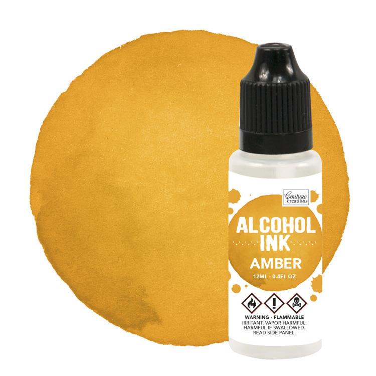 Alcohol Ink Sunshine Yellow / Amber (12mL   0.4fl oz)