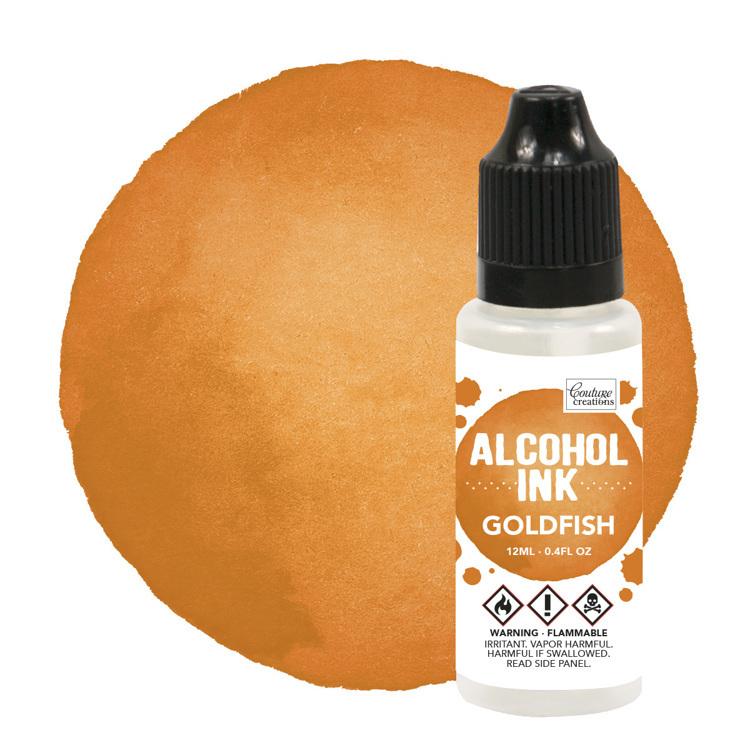 Alcohol Ink Sunset Orange / Goldfish (12mL   0.4fl oz)
