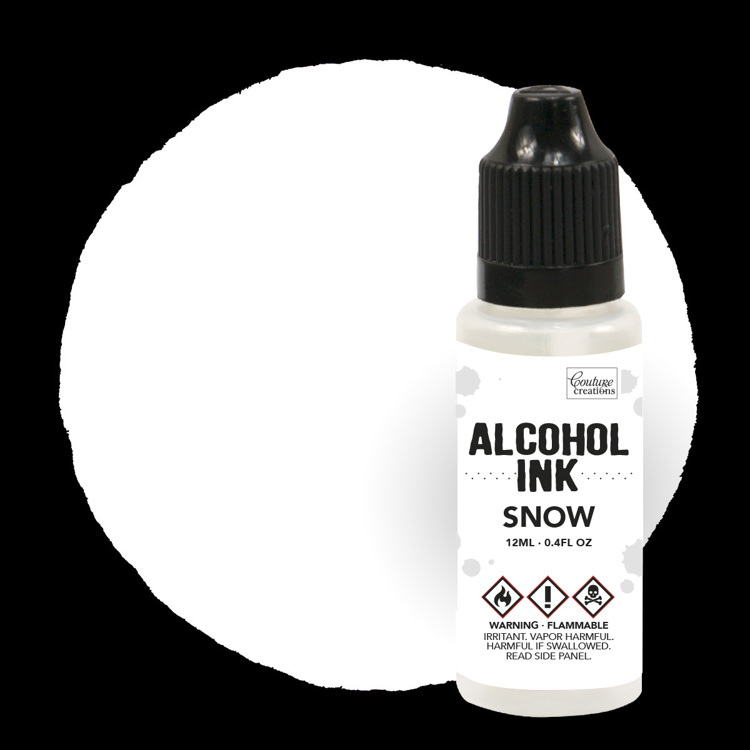 Alcohol Ink Snow Cap / Snow (12mL   0.4fl oz)