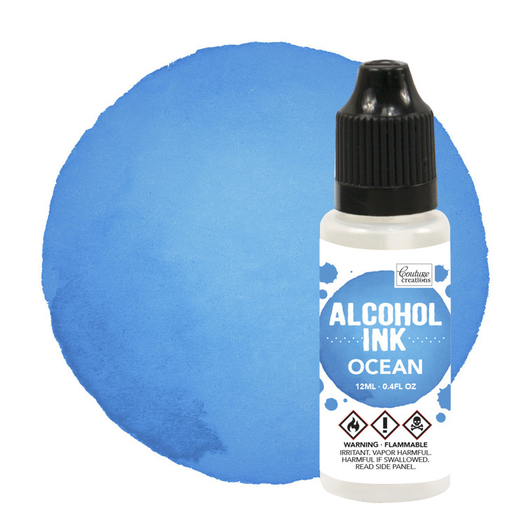 Alcohol Ink Sail Boat Blue / Ocean (12mL   0.4fl oz)