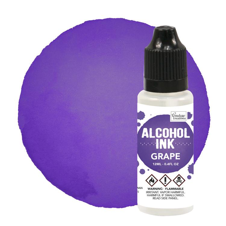 Alcohol Ink Purple Twilight / Grape (12mL   0.4fl oz)