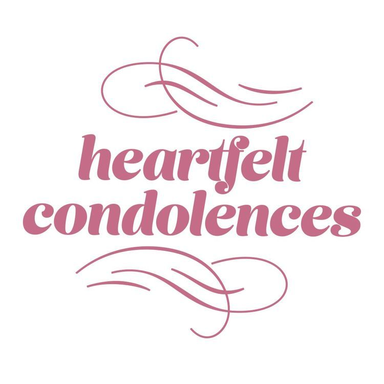 Heartfelt Condolences Mini Stamp (1pc)