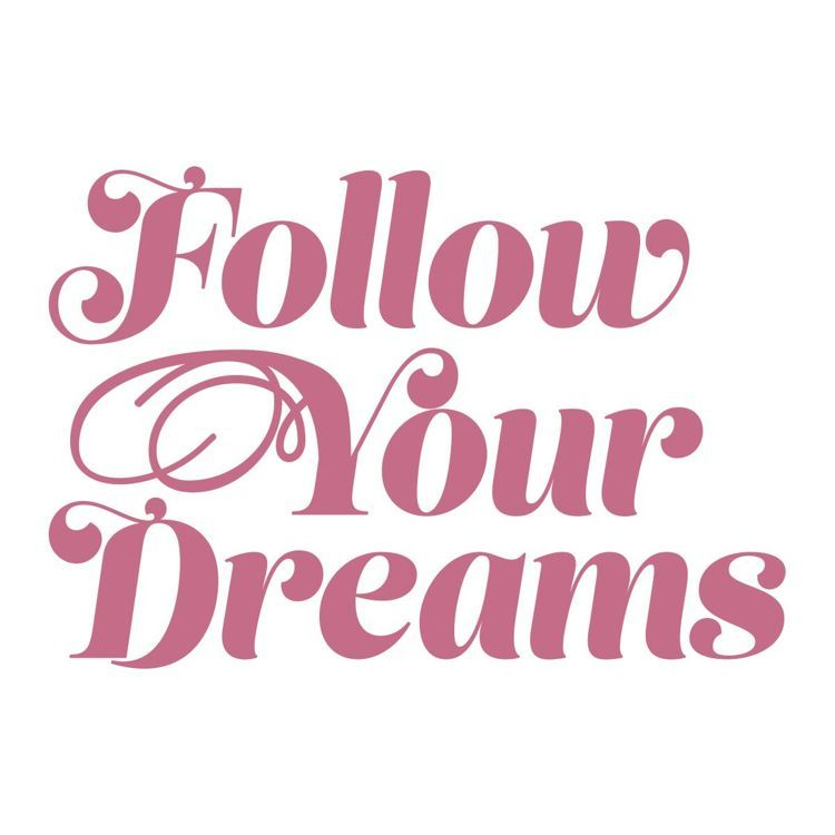 Follow Your Dreams Mini Stamp (1pc)