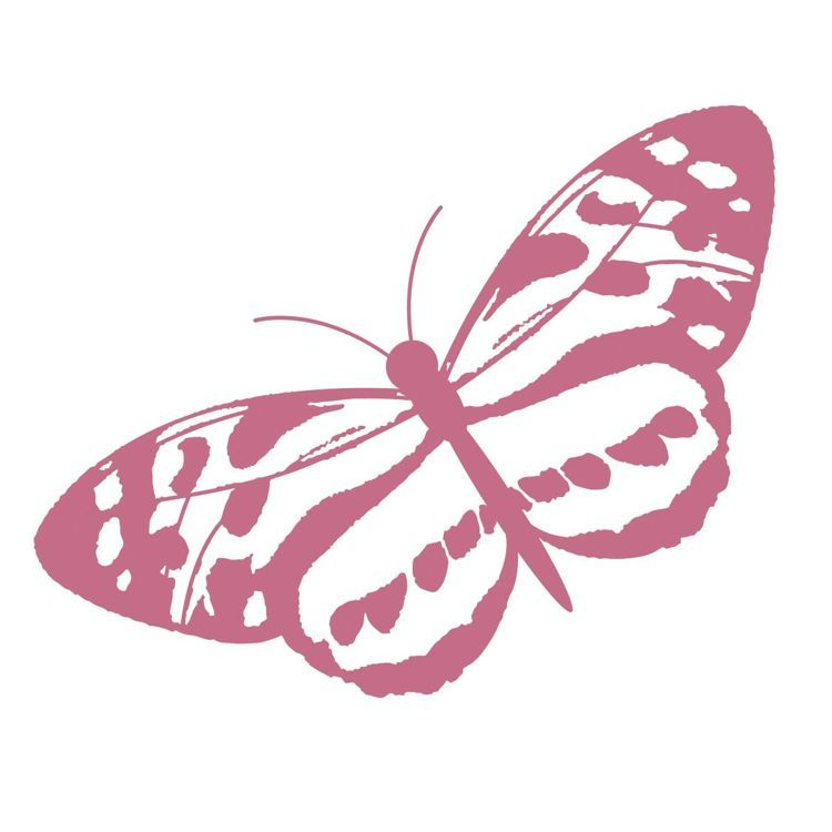 Spotted Butterfly Mini Stamp (1pc)