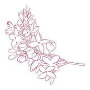 Lilacs Mini Stamp (1pc)