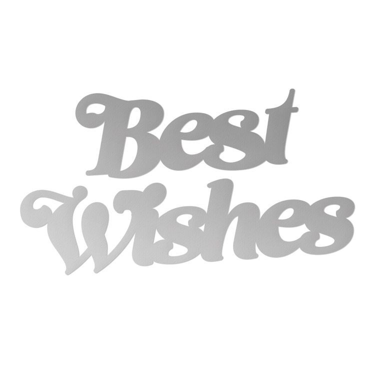 Best Wished Mini Cutting Die Set (2pc)