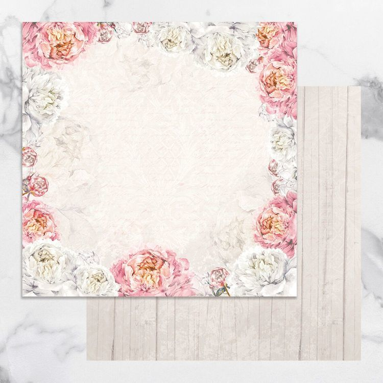 Peaceful Peonies Double Sided Patterned Papers 4 (5pc)
