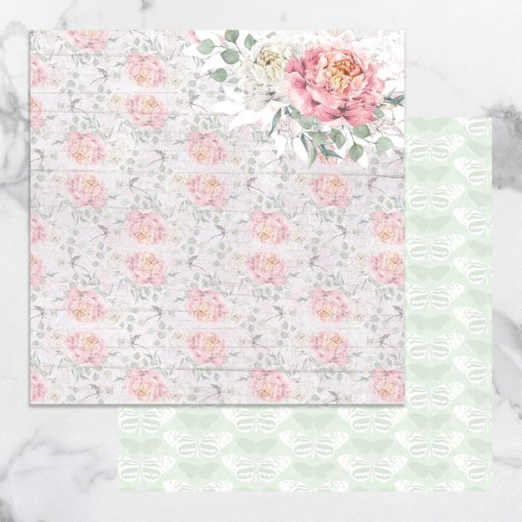 Peaceful Peonies Double Sided Patterned Papers 3 (5pc)