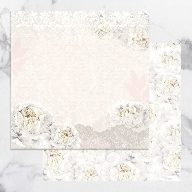 Peaceful Peonies Double Sided Patterned Papers 2 (5pc)