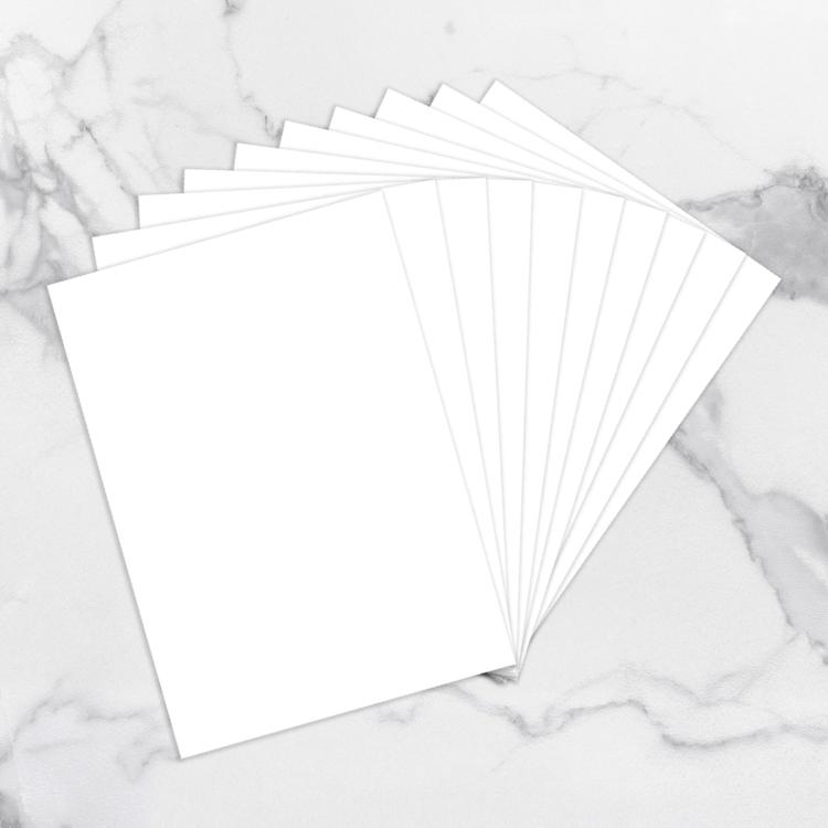 White Adhesive Yupo Paper A4 (250gsm | 10pc)