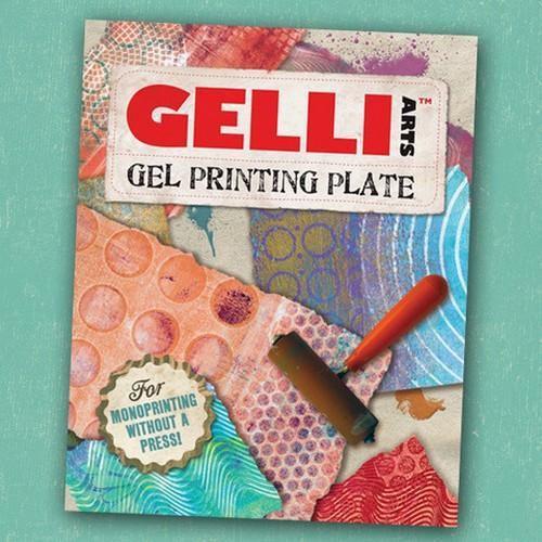 Gelli Arts - Gel Printing Plate 20.3x25.4cm GEL8X10