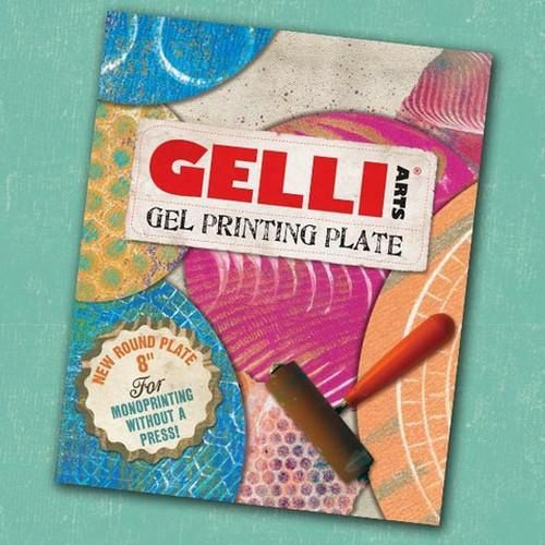 Gelli Arts - Gel Printing Plate rond 20cm GEL8R