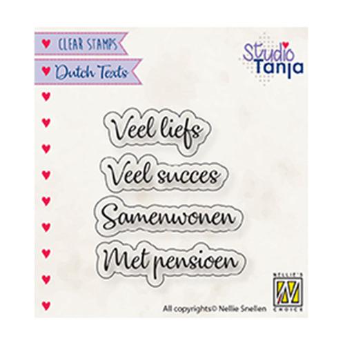 Dutch texts, Veel liefs etc..