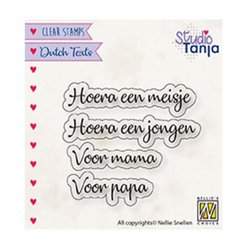 Dutch texts, Hoera een meisje..