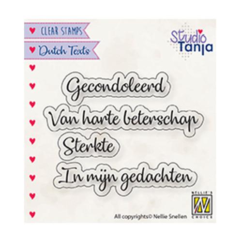 Dutch texts, Gecondoleerd etc..