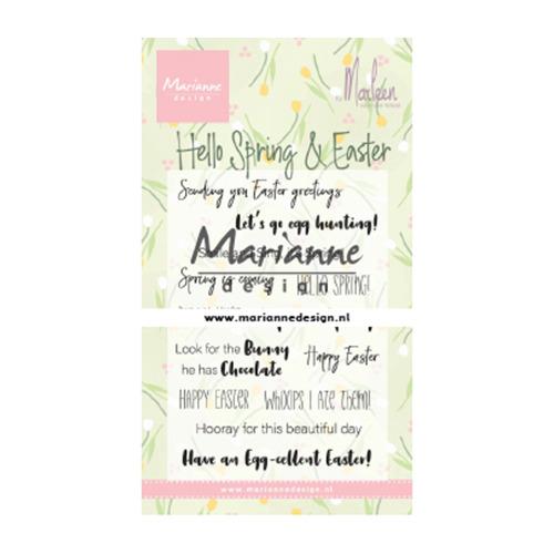 Marleen's Hello Spring & Easter