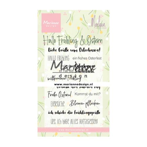 Marleen's Hallo Fruhling & Oster