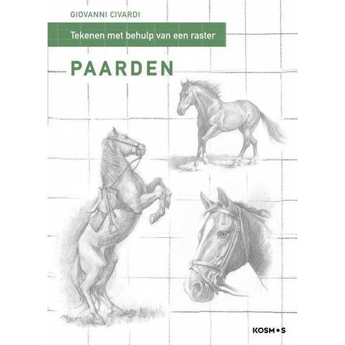 Kosmos Boek - Stap model tekenen mbv rasterlijnen - paarden Giovanni Civardi (02-20)