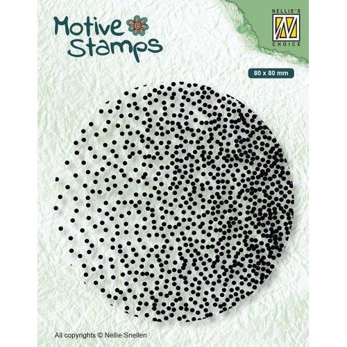Nellie's Choice Clearstamp - Texture Confetti TXCS015 80x80mm (01-20)