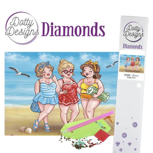 Dotty Designs Diamonds -Bubbly Girls -Beach