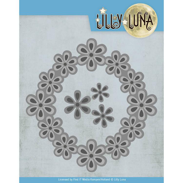 Snijmal - Lilly Luna - Pop Up Bloemenframe