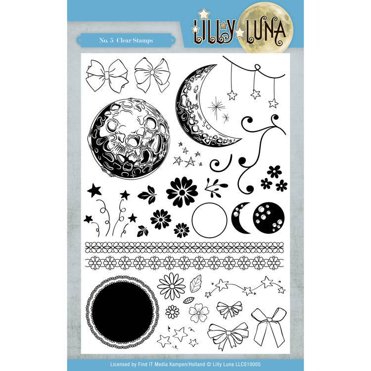 Clear Stamps - Lilly Luna
