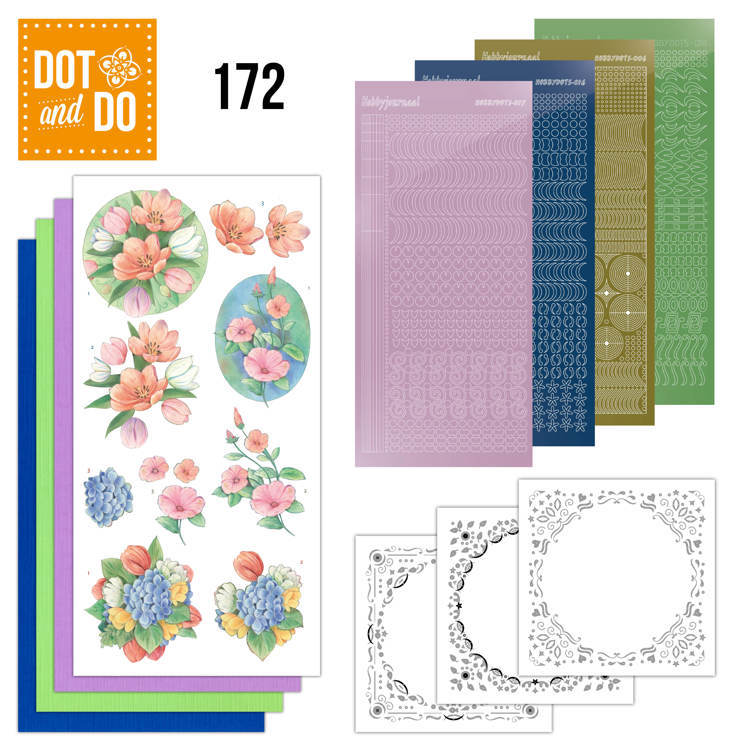 Dot and Do 172 - Aquarel Tulpen en meer