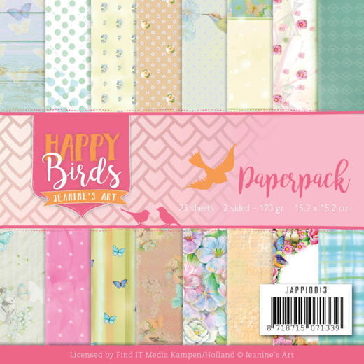 Paperpack - Jeanine's Art - Happy Birds