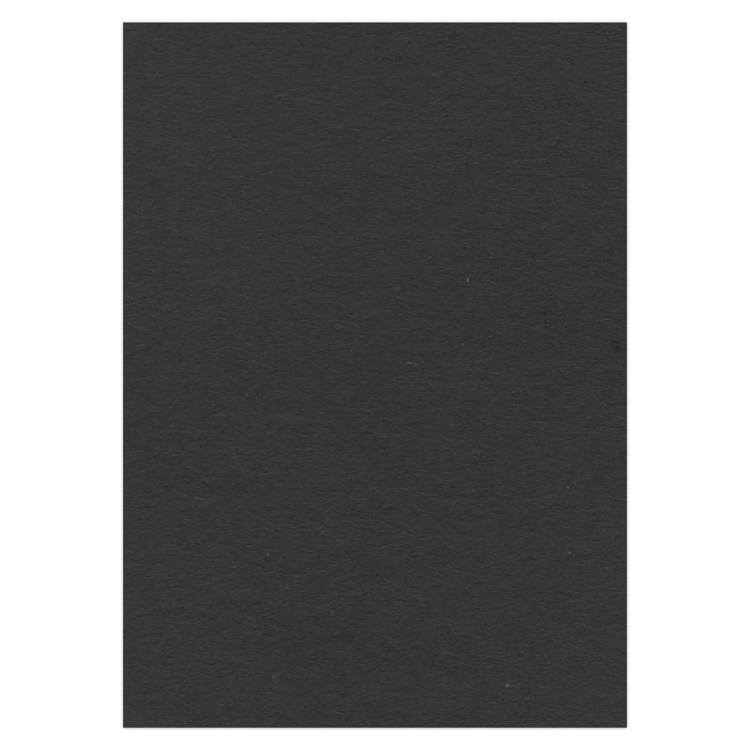 A4 Zwart Fotokarton 270 gr.