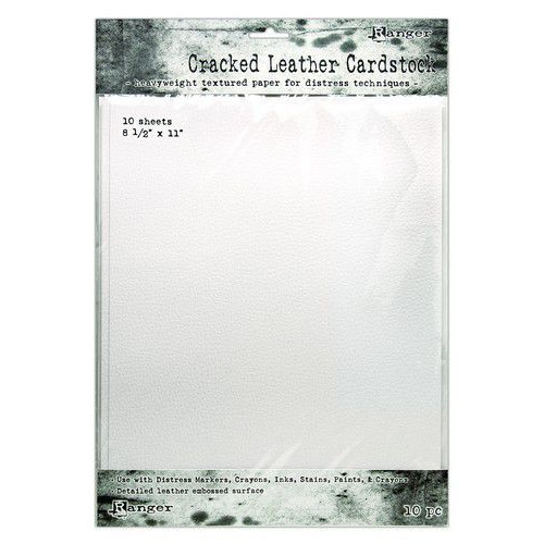 Ranger Distress Cracked Leather Paper 8.5x11 10 vel TDA71280 (02-20)