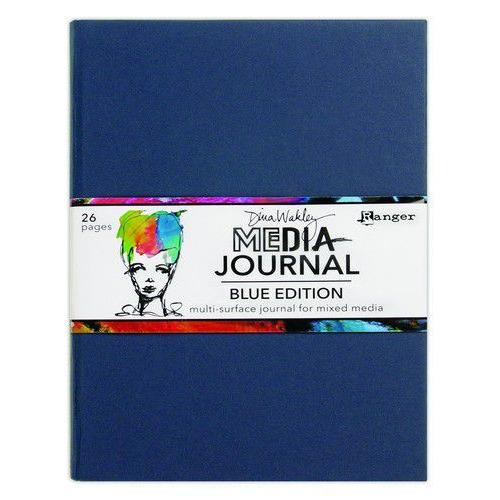Ranger Dina Wakley MEdia Journals Blue Edition MDJ69171 (02-20)