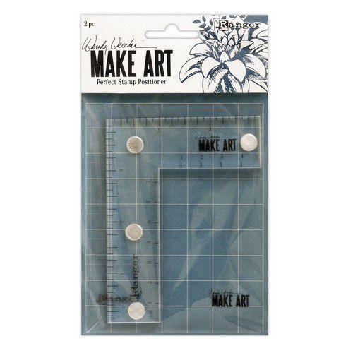 Ranger Wendy Vecchi Make Art Perfect Stamp Positioner Set WVA69119 (02-20)