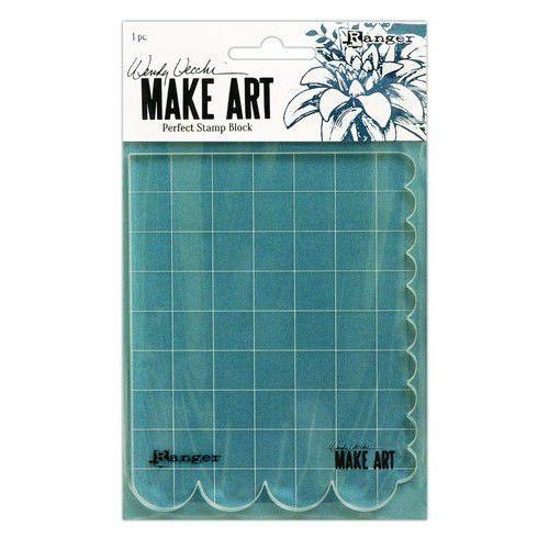 Ranger Wendy Vecchi Make Art Perfect Stamp Block WVA69126 (02-20)