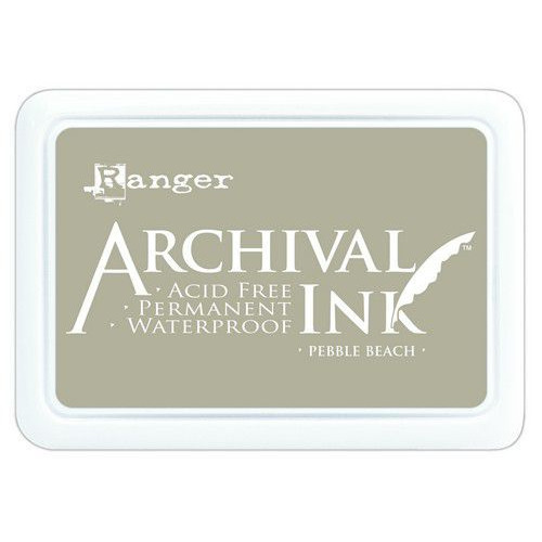 Ranger Archival Ink pad - pebble beach AIP70788 (02-20)