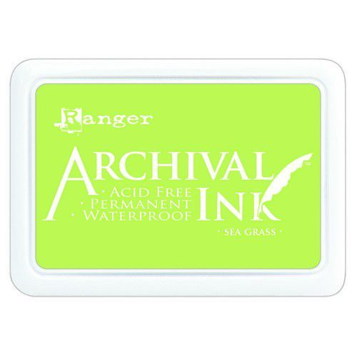 Ranger Archival Ink pad - sea grass AIP70801 (02-20)
