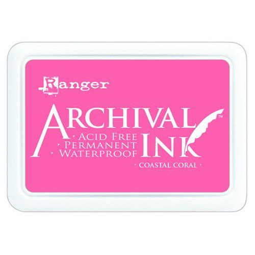 Ranger Archival Ink pad - Coastal Coral AIP69300 (02-20)