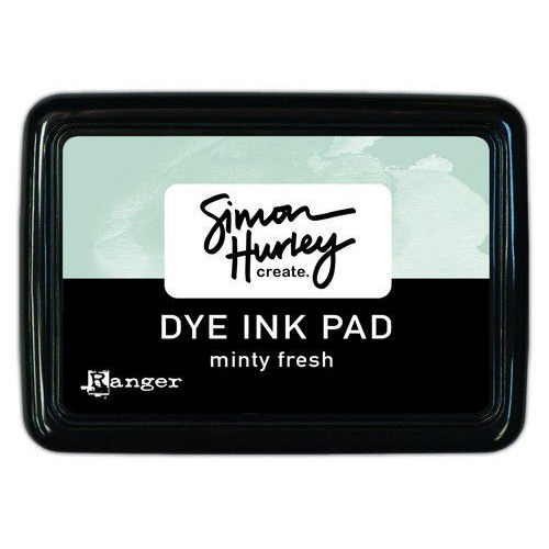 Ranger Simon Hurley Dye Ink Minty Fresh HUP69386 (02-20)