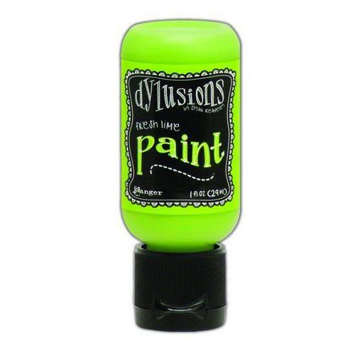 Ranger Dylusions Paint Flip Cap Bottle 29ml - Fresh Lime DYQ70481 (02-20)