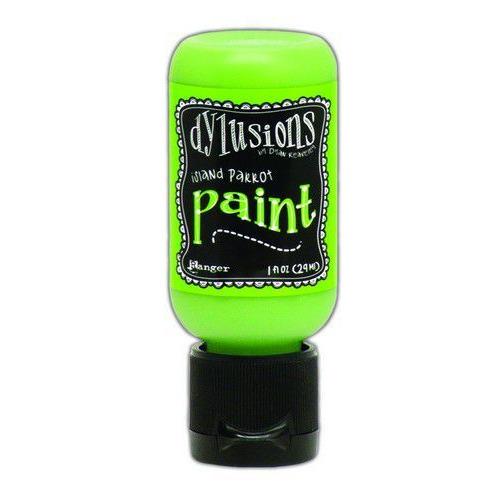 Ranger Dylusions Paint Flip Cap Bottle 29ml - Island Parrot DYQ70504 (02-20)
