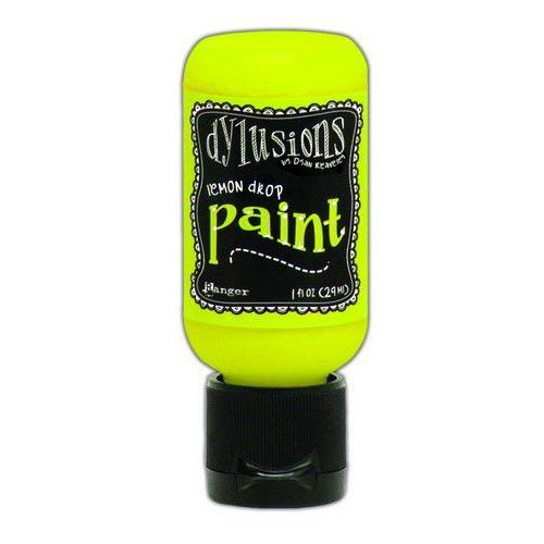 Ranger Dylusions Paint Flip Cap Bottle 29ml - Lemon Drop DYQ70528 (02-20)